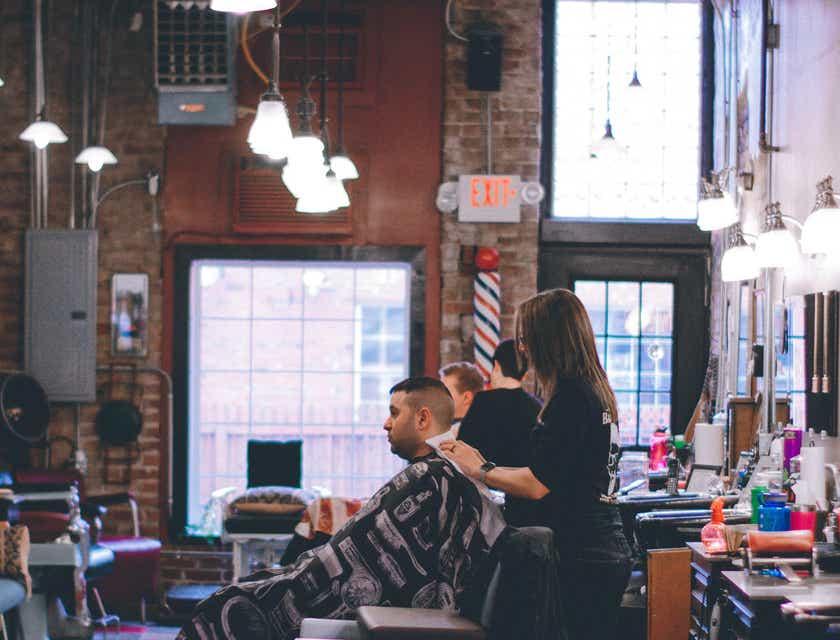 Logos para barberías