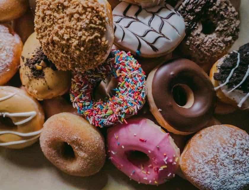 Logos de donuts