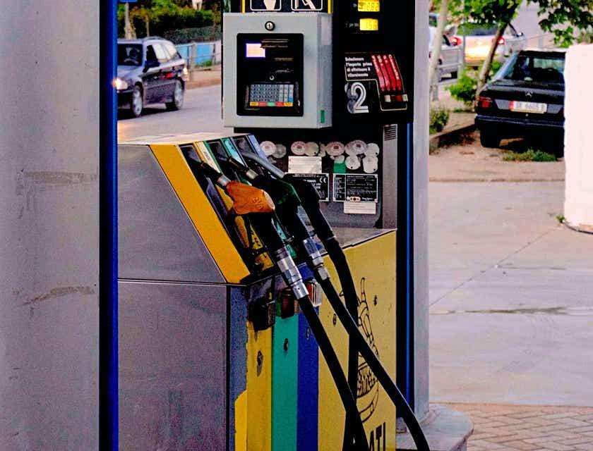 Logos für Tankstellen