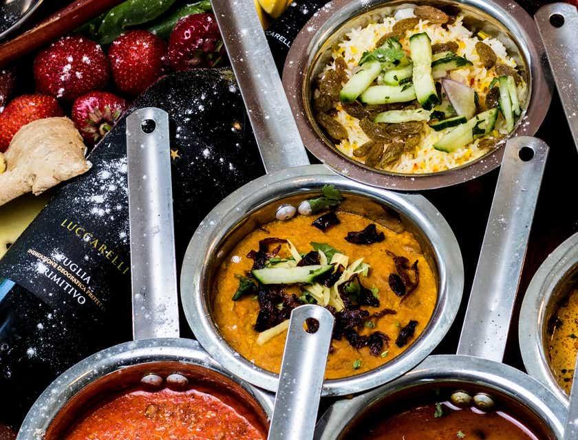 Logos de restaurant indien