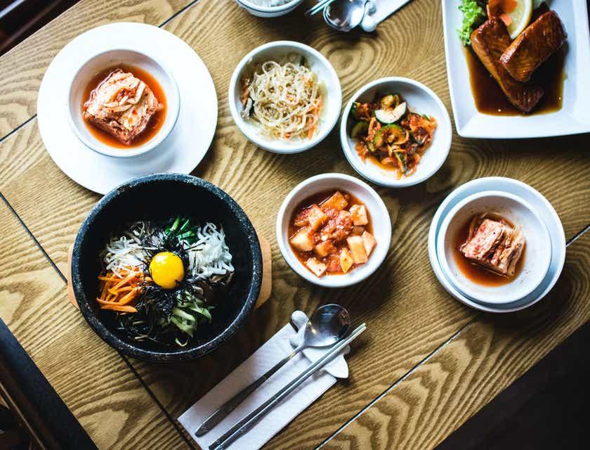 Korean Restaurant Logos