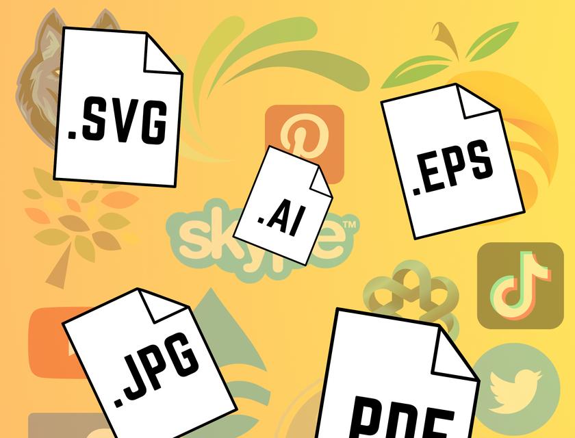 Tipos de archivos de logos y cuándo usarlos