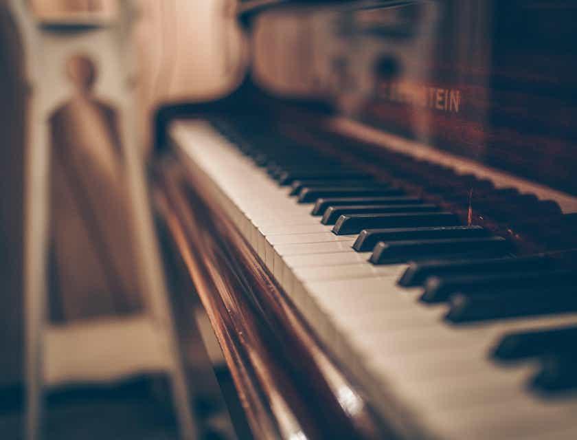 Logos para tiendas de pianos