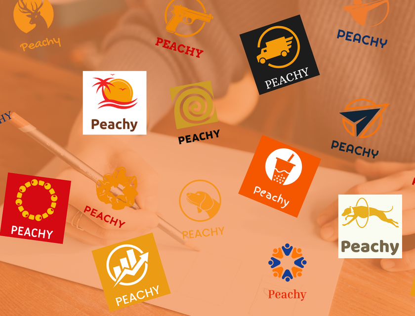 Orange Circle Logos