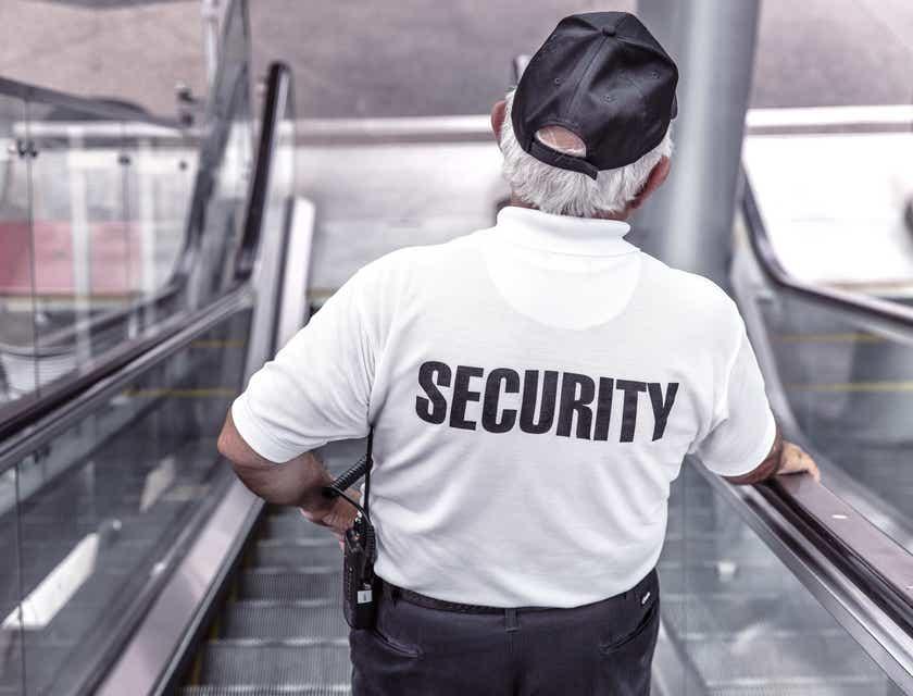 Logos für Sicherheitsfirmen