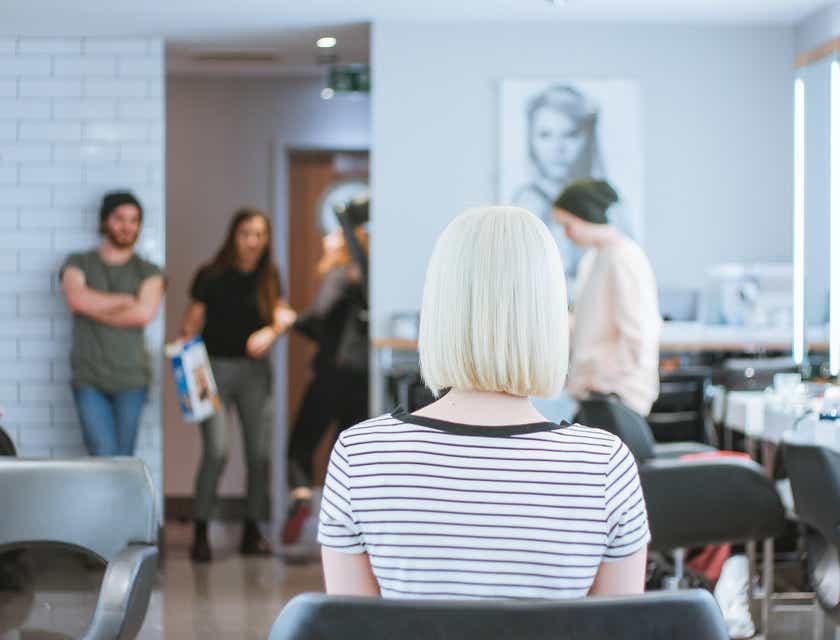 Women's Hairstylist Logos