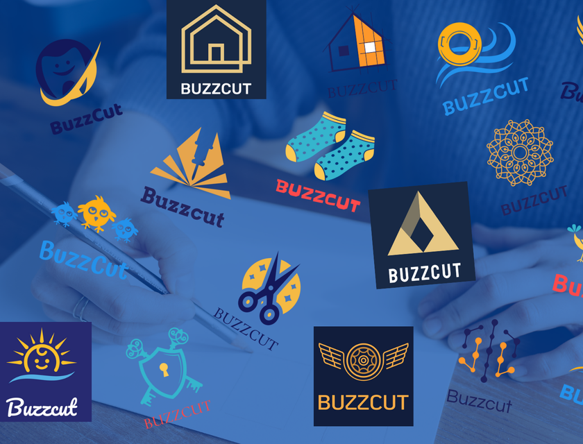 Yellow and Blue Logos